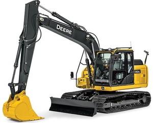 John Deere 130G (iT4/S3B) Excavator (S.N.1FF130GX_E040001) Operation & Test Service Manual (TM12348)