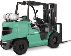 Mitsubishi Gasoline/LPG Forklift Truck FG40N, FG45N, FG50N, FG50CN, FG55N Service Manual