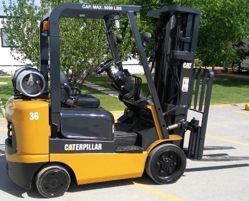 Caterpillar GAS Lift Truck GC15K, GC18K, GC20K, GC25K, GC30K Workshop Service Manual