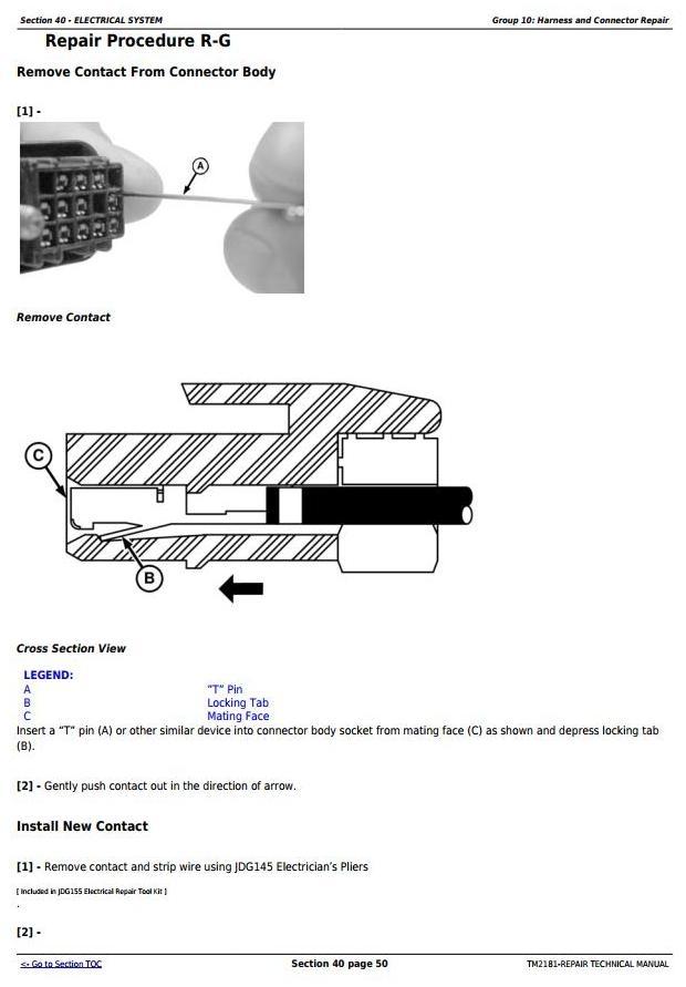 9560 Sts 9660 9760 9860 Bines Servic. 9560 Sts 9660 9760 9860 Bines Service Repair Technical Manual. John Deere. Air Conditioning Wiring Diagrams John Deere 9560 At Scoala.co