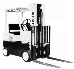 Hyster IC Engined Forklift Truck D002 Series: S30E, S40E, S50E, S60ES Spare Parts List
