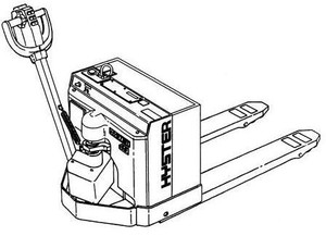Hyster Electric Walkie A215 Series: W45XT Spare Parts List, EPC