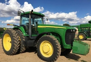 John Deere 8120, 8220, 8320, 8420, 8520 (Worldwide Edition) Tractors Service Repair Manual (TM1970)
