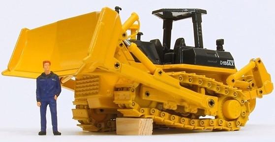 Komatsu Crawler Dozers D155AX-5 sn:76243-80000 Operating and Maintenance Instructions