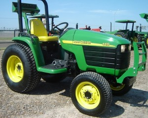 John Deere 4210, 4310, 4410 Compact Utility Compact Utility Tractor Service Technical Manual(tm1985)