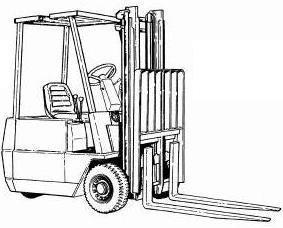 Hyster Forklift Truck Type A203: A1.00XL (A20XL), A1.25XL (A25XL), A1.50XL (A30XL) Spare Parts List