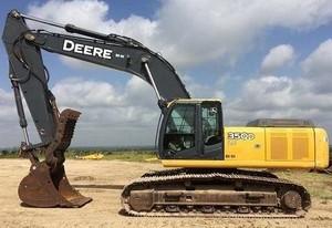 John Deere 350DLC  Excavator Service Repair Technical Manual (TM2360)