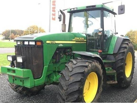 John Deere 8110, 8201, 8310 and 8410 2WD or MFWD Tractors Diagnosis Service Manual (tm1796)