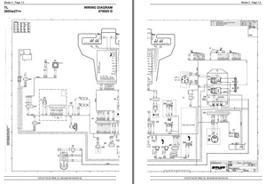 Atlet Reach Truck Type X-20, X-90, X-Ergo, A, A-Ergo, TL, TP, TS, OP Electical Diagramm
