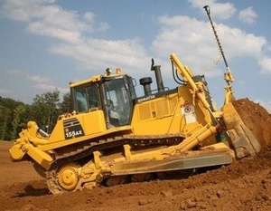 Komatsu Crawler Dozers D155AX-6 sn:80001 and up Operating and Maintenance Instructions