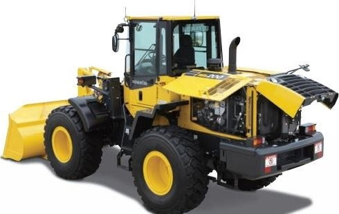 Komatsu Wheel Loader WA200-7 sn:80001 and up Workshop Service Manual