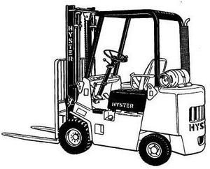 Hyster Forklift Truck B010 Series:S1.25XL (S25XL), S1.50XL (S30XL), S1.75XL (S35XL) Spare Parts List