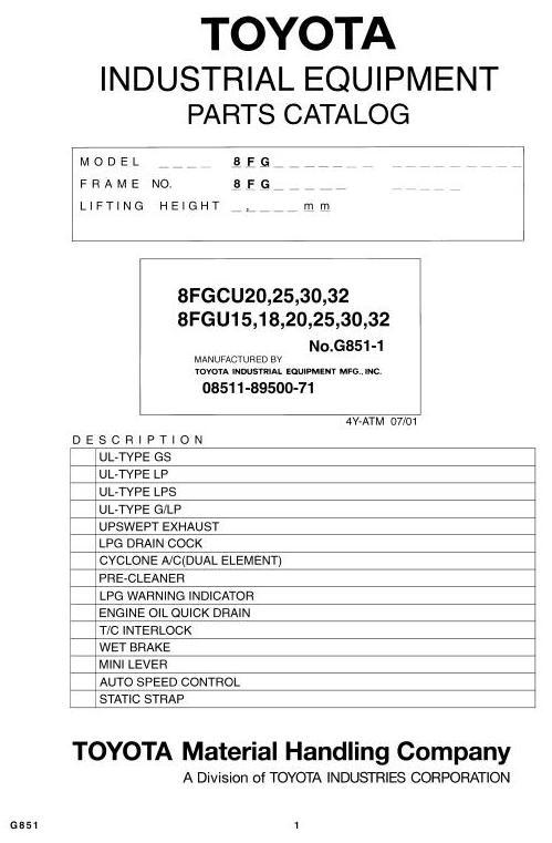 toyota 8fgu15 18 20 8fgu25 8fgu30 8fgu32 8fgcu20 rh sellfy com toyota 4y service manual toyota 4y service manual