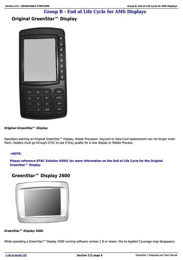 John Deere GreenStar 2 Technical Service Manual (TM1061)