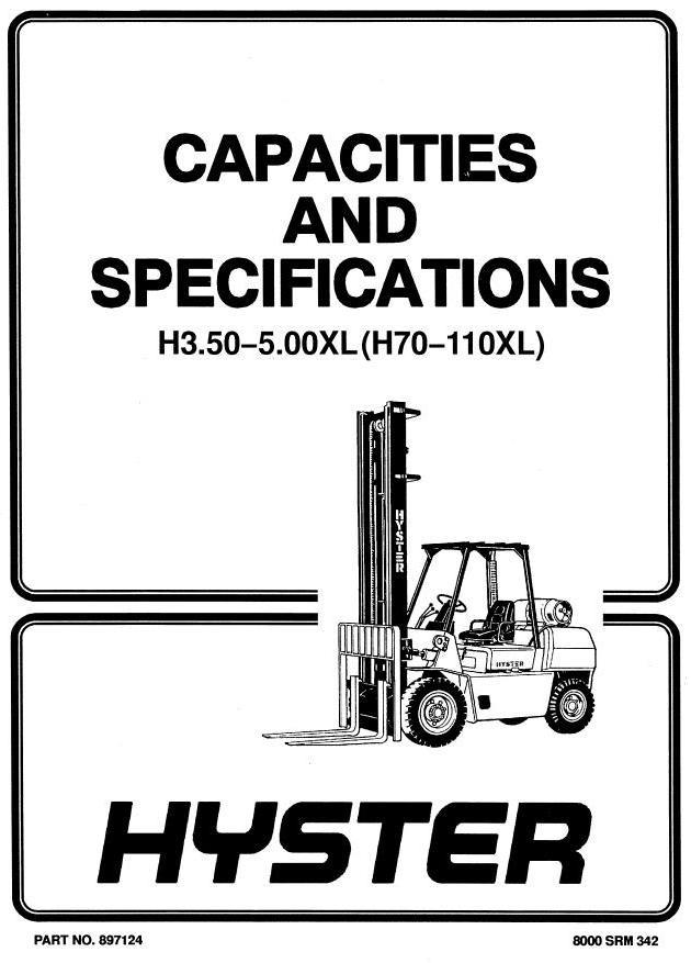 hyster forklift truck type f005 g005 h70xl h80xl h rh sellfy com 1993 8000 Pound Hyster H80XL Hyster Forklift H80XL Monotrol