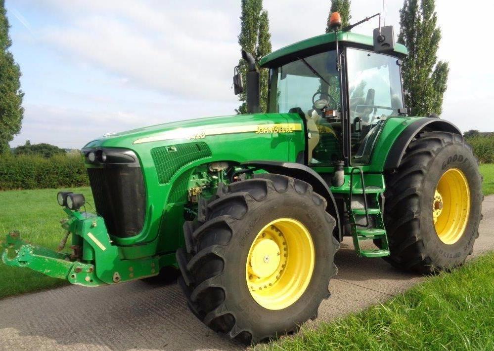 john deere 8120 8220 8320 8420 8520 tractors opera rh sellfy com Wor at John Deere 8220 2009 John Deere 8320