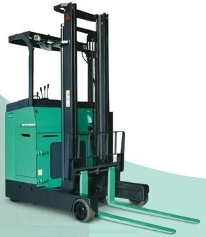 Mitsubishi Reach Truck RBS9-10-13-14-15-18-20-25-30 CA-LCA-WCA-WLCA Operating Instructions