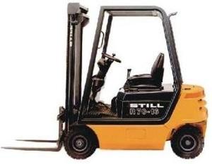 Still Diesel Fork Truck Type R70-16, R70-18: R7052, R7056 Parts Manual