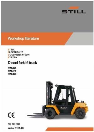 Still Fork Truck R70-60 R70-70, R70-80 Series: R7090, R7091, R7092 Workshop Manual