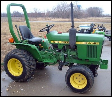 John Deere Tractor 650, 750 Workshop Service Manual