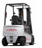 Nissan Electric Forklift 1Q2 series Service repair manual