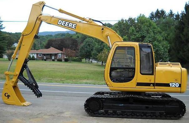 john deere 120 excavator service repair technical manu rh sellfy com