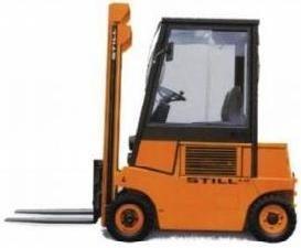 Still LPG Fork Truck Type R70-16T: R7037 Parts Manual