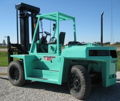 Mitsubishi Diesel Forklift Truck  FD100, FD115, FD135, FD150A Workshop Service Manual