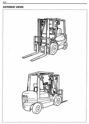 Toyota Diesel Forklift Truck: 6FD10, 6FD14, 6FD15, 6FD18, 6FD20 Workshop Service Manual