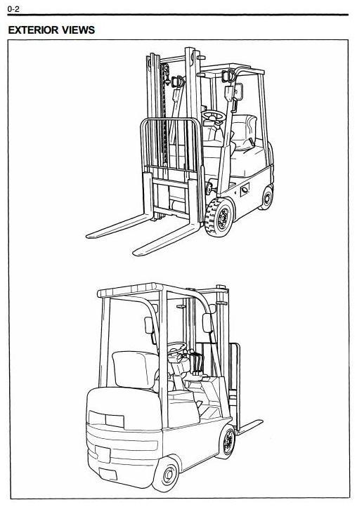 toyota lpg forklift truck 7fgcsu20 7fgcu15 7fgcu18 w rh sellfy com Toyota Forklifts Manual 7FGCU30 Toyota Forklifts Manual 7FGCU30