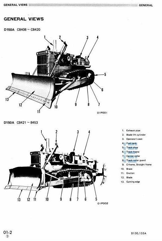 Komatsu Crawler Dozers D375A-6 60001 and up Workshop Service Manual