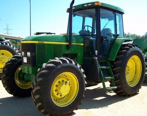 John Deere 7210, 7410, 7510 Tractors Diagnosis and Tes