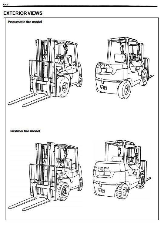 hyster reach truck n25xmdr2  n30xmr2  n40xmr2  b470