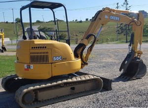 John Deere 50Czts Compact Excavator Service Repair Technical Manual (TM2057)