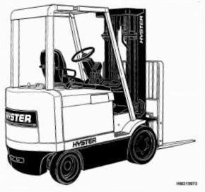 Hyster Electric Forklift Truck 216 Series: J2.00XM2, J2.50XM2, J3.00XM2, J3.20XM2 Spare Parts List