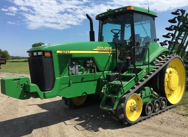 John Deere 8110T, 8210T, 8310T, 8410T Tracks Tractors Diagnosis and Tests Service Manual (tm1799)