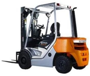 Still Diesel Lift Truck Type RC40-25, RC40-30: 4017, 4018 Spare Parts Catalogue, Manual