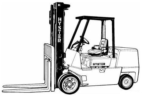 hyster b024 series s6 00xl s135xl s135xl2 s7 00xl rh sellfy com Hyster H155XL Fork Lift Hyster Forklift Diagram Model Number Location