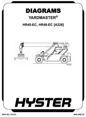 Hyster Diesel Counter Balanced Truck Type A228: HR45-EC, HR48-EC Workshop Manual