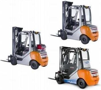 Still Diesel Truck RX70-22D, RX70-25D, RX70-30D, RX70-35D: 7361, 7362, 7363, 7364 Parts Manual