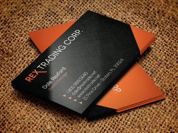 Trading Company Business Card Template 4cgraphic