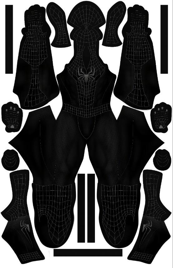 TASM2 Black Suit pattern