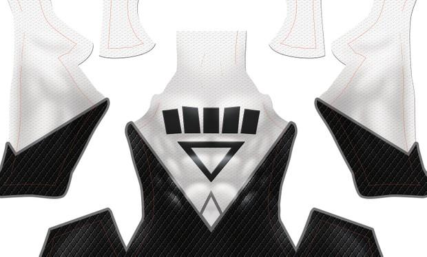 (CUSTOM) Black Lantern pattern