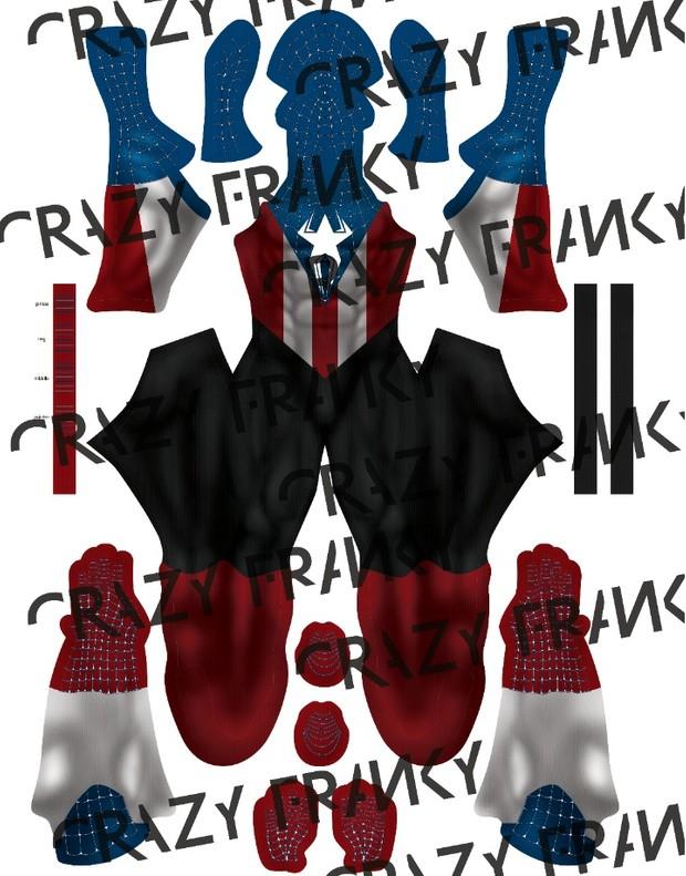 Captain Spider V3 pattern