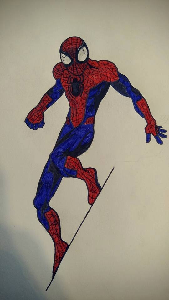 (FanArt) Civil War Spider-Man V1 pattern