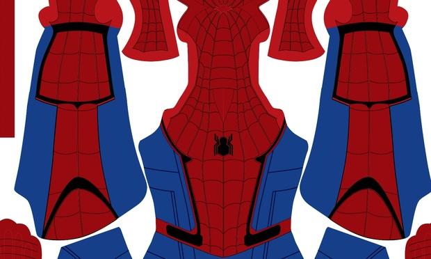 (FREE) Civil War Spider-Man (brighter version)