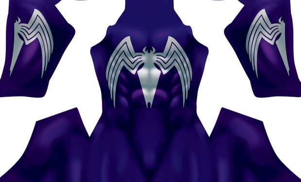 Symbiote V2 (Purple) pattern