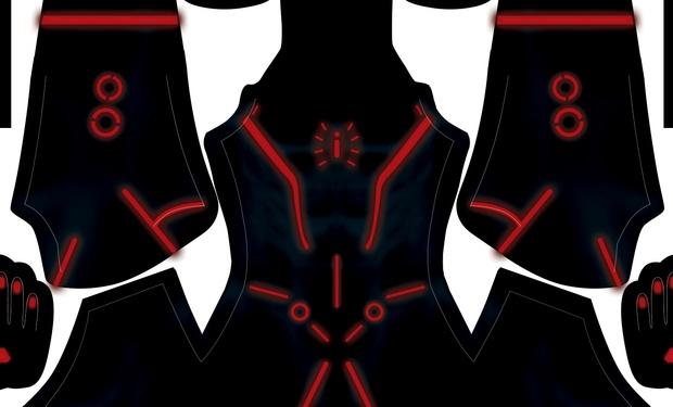 Spider-Tron pattern
