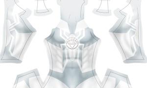 (CUSTOM) White Lantern Spidey pattern