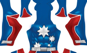 (CUSTOM) Captain Australia pattern
